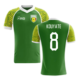 2018-2019 Senegal Away Concept Football Shirt (Kouyate 8) - Kids