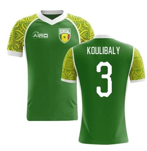 2018-2019 Senegal Away Concept Football Shirt (Koulibaly 3)