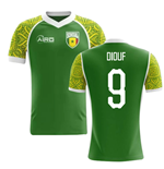 2018-2019 Senegal Away Concept Football Shirt (Diouf 9) - Kids
