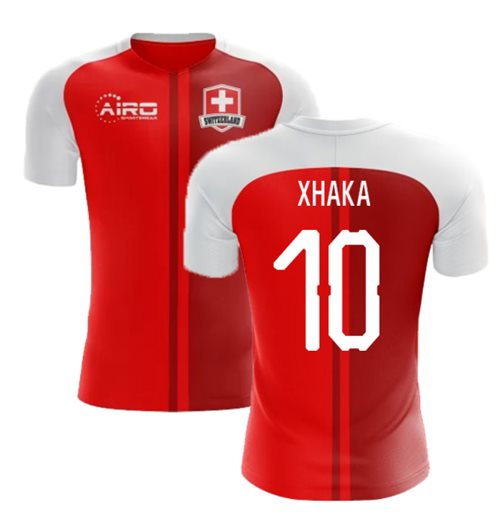 2018-2019 Switzerland Home Concept Football Shirt (Xhaka 10) - Kids