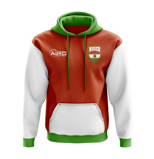 Niger Concept Country Football Hoody (Orange)