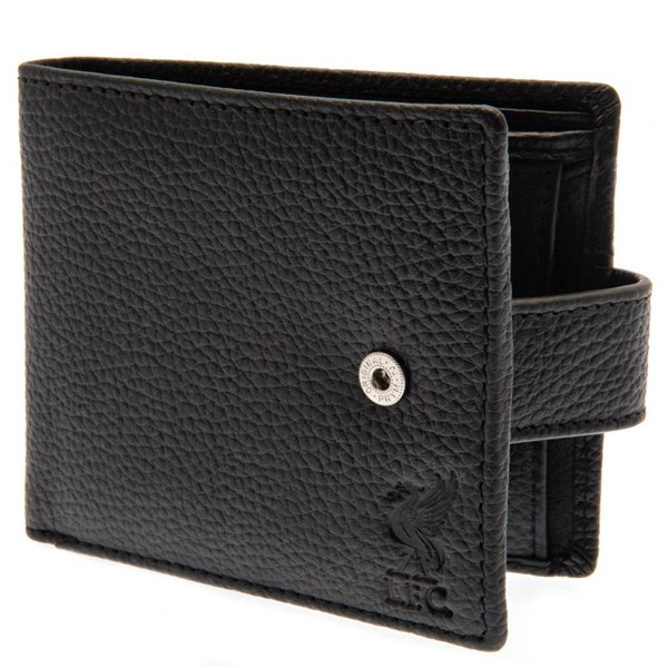 Liverpool F.C. Black Leather Wallet