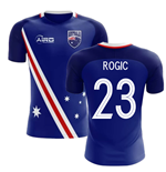 2018-2019 Australia Flag Away Concept Football Shirt (Rogic 23)