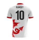 2018-2019 Wales Airo Concept Away Shirt (Ramsey 10)