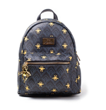 DISNEY Aladdin All-over Print Ladies Mini Backpack, Female, Black