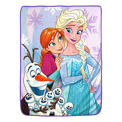 FROZEN Snow Hugs Fleece Blanket