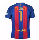 2016-17 Barcelona Sponsored Home Shirt (Ter Stegen 1) - Kids