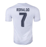 2015-2016 Real Madrid Adidas World Champions Home Football Shirt (Ronaldo 7)