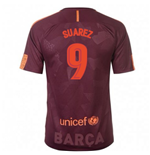 2017-18 Barcelona Nike Third Shirt (Suarez 9) - Kids
