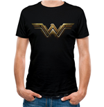 Wonder Woman Movie - Logo - Unisex T-shirt Black