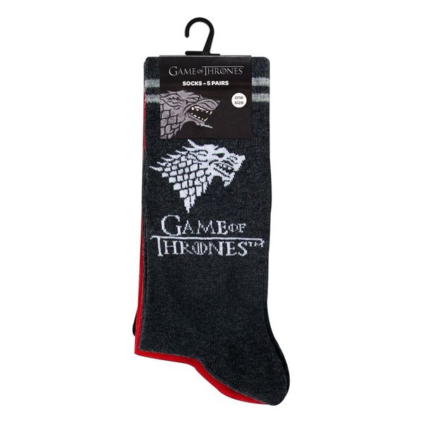 Game of Thrones Socks 5-Pack heo Exclusive