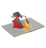 Game of Thrones 3D Pop-Up Greeting Card Dragon