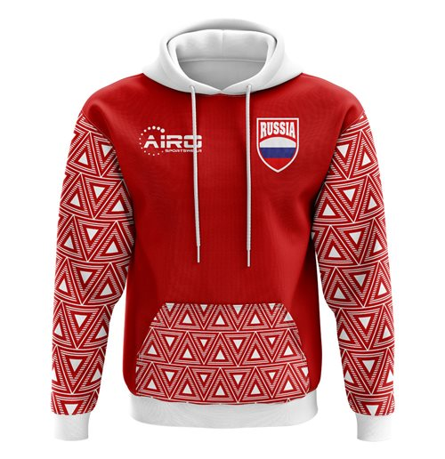 2018-2019 Russia Home Concept Football Hoody