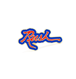 Rush Badge Hemispheres Logo
