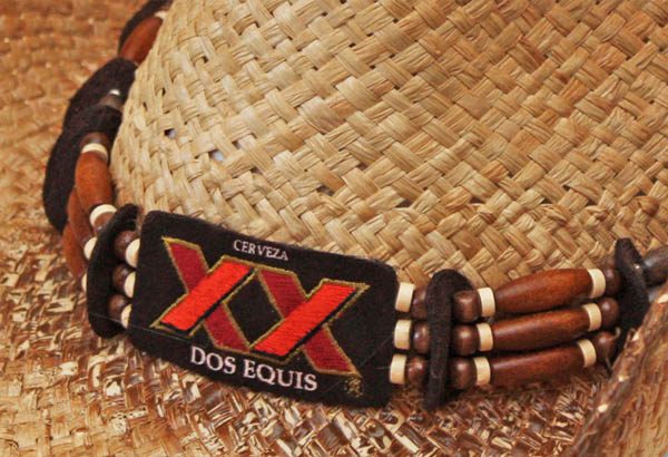 Official Dos Equis Beaded Straw Cowboy Hat Buy Online On