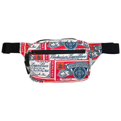 BUDWEISER Label Fanny Pack