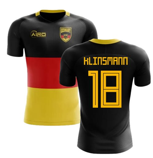 2018-2019 Germany Flag Concept Football Shirt (Klinsmann 18)