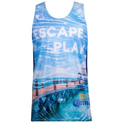 Corona Boardwalk Escape Plan Tank Top