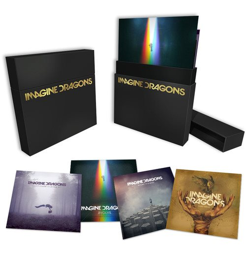 Vynil Imagine Dragons - Imagine Dragons (4 Lp)