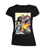 Fairy Tail: All Characters Women's Black T-shirt