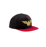 Wonder Woman - 3d Gold Logo - Black