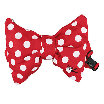 Minnie Mouse Red Bow Fanny Pack