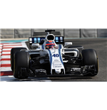 WILLIAMS MARTINI RACING MERCEDES FW40 ROBERT KUBICA ABU DHABI TEST 2017