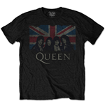 Queen Men's Tee: Vintage Union Jack