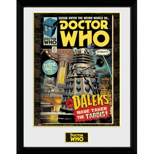 Doctor Who Picture 16 x 12 Comic