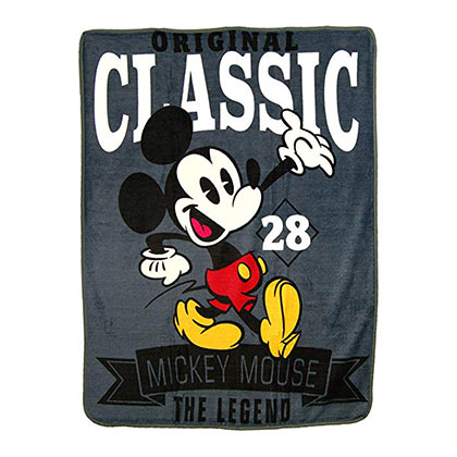 Mickey Mouse Classic Legend Fleece Blanket