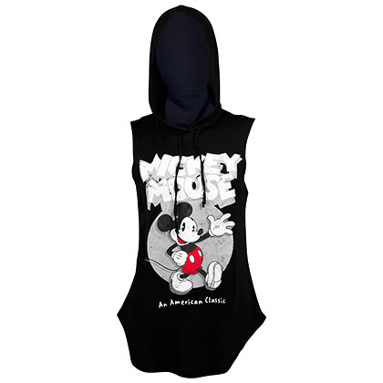 Mickey Mouse American Classic Women's Hoodie Tank Top