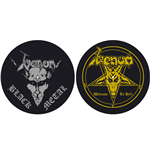 Venom Turntable Slipmat Set: Black Metal/Welcome to Hell