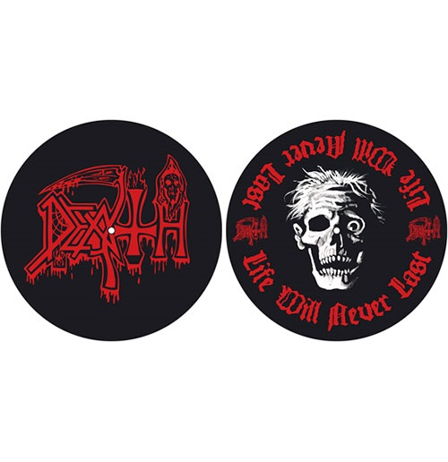 Death Turntable Slipmat Set: Life Will Never Last