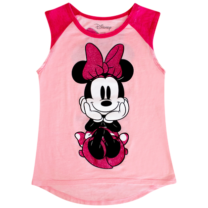 Minnie Mouse Smiling Youth Tank Top
