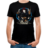 David Bowie - Collage - Unisex T-shirt Black