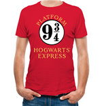 Harry Potter - 9 And 3 Quarters - Unisex T-shirt Red