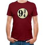 Harry Potter - Platform 9 And 3 Quarters - Unisex T-shirt Red