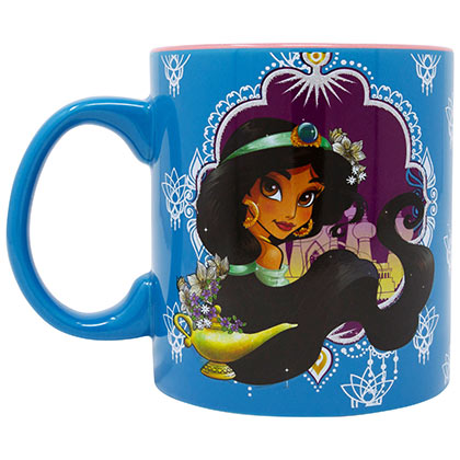 Aladdin Jasmine 20 Ounce Ceramic Coffee Mug