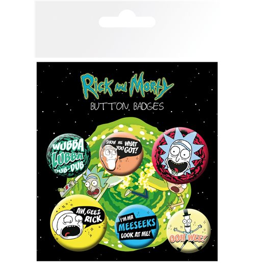 Rick and Morty Pin 342476