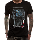 Friday The 13TH - Movie Sheet - Unisex T-shirt Black