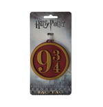 Harry Potter - Nine And Three Quarters - Bag Tag Red