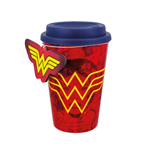 Wonder Woman Travel Mug Red Wonder Woman