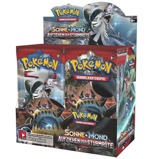 Pokemon Sonne und Mond 04 Crimson Invasion Booster Display (36) *German Version*
