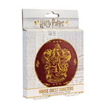 Harry Potter Coaster 4-Pack Houses Crests