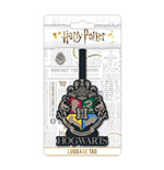 Harry Potter Rubber Luggage Tag Hogwarts Crest