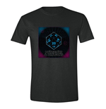 Dungeons & Dragons T-Shirt 80´s Sci-Fi Dice in Space