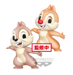 Disney Fluffy Puffy Mini Figures 2-Pack Chip 'n Dale 7 cm