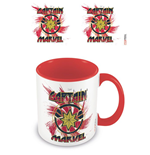 Captain Marvel Coloured Inner Mug Rock