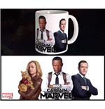 Captain Marvel Mug Trio