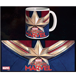 Captain Marvel Mug Logo